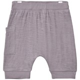 Hust&Claire Raw Grey Jersey Shorts