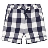 Hust&Claire Night Blue Plaid Shorts