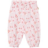 Hust&Claire White Floral Jersey Trousers