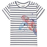 Hust&Claire Blue Moon T-Shirt With Turtle