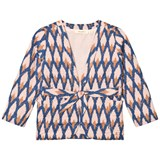 Soft Gallery Pale Blush Ikat Blue Ellis Jacket
