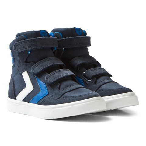 Hummel Total Eclipse Stadil Canvas High Junior Trainers