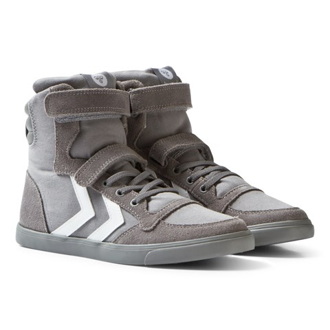 Frost Grey Slimmer Stadil High Junior Trainers