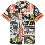 Diesel Multi Colour Printed Branded Shirt