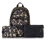 Tiba + Marl Camo Elwoood Changing Bag