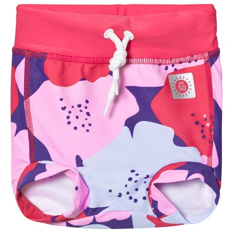 Strawberry Red Belize Swimming Trunks