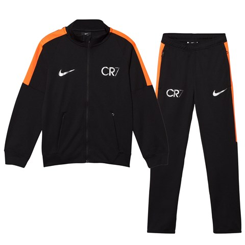 Black CR7 Squad Dry Track Suit