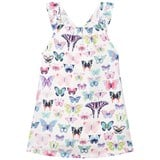 Hatley White Butterfly Print Cotton Dress