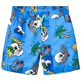 Animal Blue Pow Printed Boardshorts