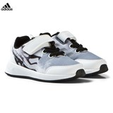 adidas Black and White Infants Star Wars Trainers
