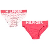 Tommy Hilfiger 2 Pack of Pink and White Branded Briefs