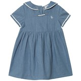 Cyrillus Blue Chambray Sailor Dress