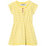 ANÏVE for the minors Dress Happy Yellow/White Stripes
