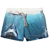 MC2 St Barth Blue Jaws Swim Trunks