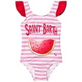 MC2 St Barth Pink Watermelon Frill Swimsuit