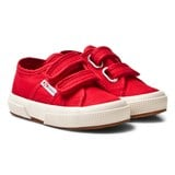 Superga Classic Red Velcro Sneakers