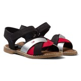 Tommy Hilfiger Red White and Blue Leather Sandal