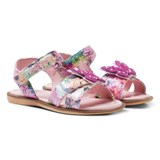 Lelli Kelly Pink Butterfly Sandals