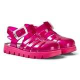 Ju Ju Pink Sparkles Nino Jelly Shoes