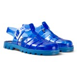 Ju Ju Blue Maxi Junior Jelly Shoes