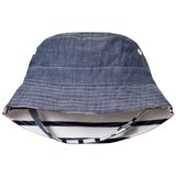 Gap Reversible Chambray and Striped Hat