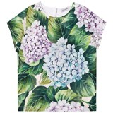 Dolce & Gabbana Floral Cotton Tee