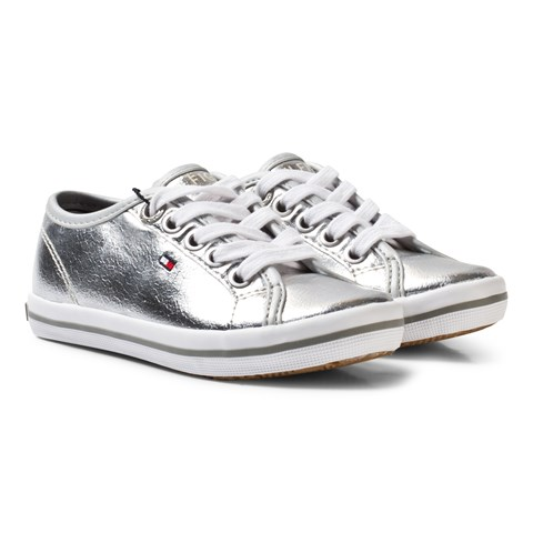 Silver Lace Trainers
