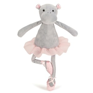 Jellycat Dancing Darcey Hippo One Size