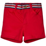 Andy & Evan Red Belted Chino Shorts