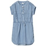 Gap Short Sleeve Denim Shirt Dress