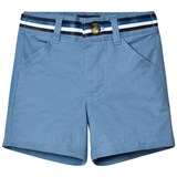 Andy & Evan Blue Belted Chino Shorts