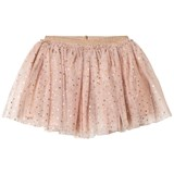 Petit by Sofie Schnoor Light Pink Skirt with Copper Dot Print