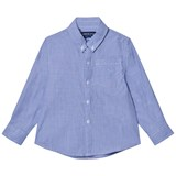 Andy & Evan Blue Chambray Button Down Shirt