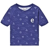 eBBe Kids Blue Sea Waves Artie Swim Tee