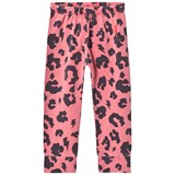 Scamp & Dude Dark Coral Leopard Print Leggings