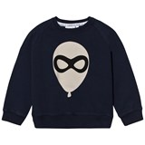 Scamp & Dude Navy Balloon Print Sweatshirt