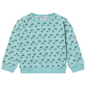 SCAMP & DUDE   Scamp & Dude Mint All Over Balloon Print Sweatshirt 5-6 Years   Goxip