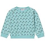 Scamp & Dude Mint All Over Balloon Print Sweatshirt