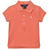 Ralph Lauren Pink Pique Polo with Small PP