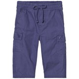 Ralph Lauren Blue Ripstop Cotton Cargo Trousers