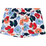 Lands' End Multi Crimson Dawn Flowers Woven Pattern Short