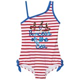 Lands' End Multi Graphic Princess Of the Seaside Stripes One Piece