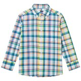 Lands' End Multicolour Plaid Poplin Shirt