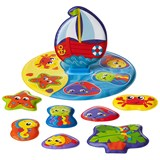 Playgro Floaty Boat Bath Puzzle