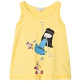 Little Marc Jacobs Yellow Rollerskating Miss Marc Vest