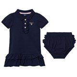 Gant Navy Pique Polo Dress with Briefs