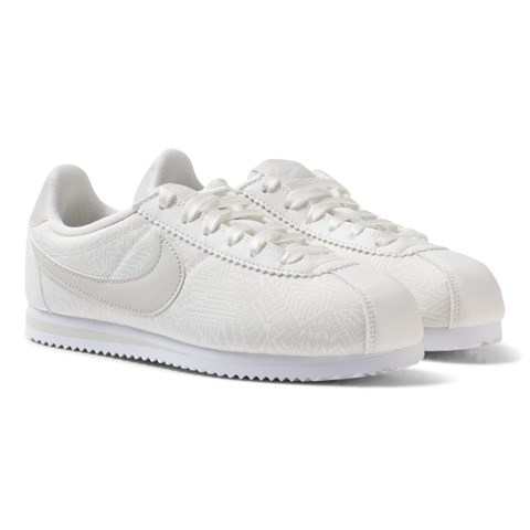White Cortex Kids Trainers