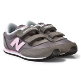 New Balance Grey and Pink 410 Velcro Shoes