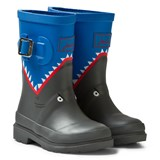 Joules Blue Shark Wellies