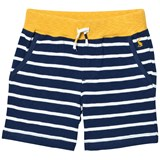 Joules Navy Stripe Jersey Shorts